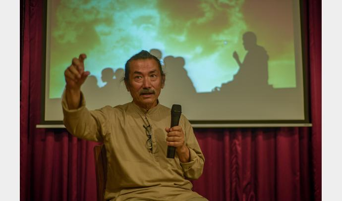 Interaction with Mani Lama